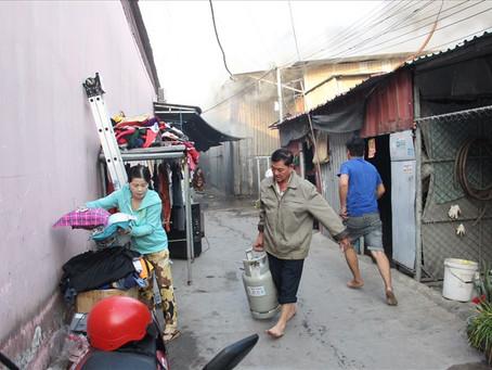Bình Dương: Nhiều khu nhà trọ công nhân vẫn nhếch nhác, thiếu an toàn