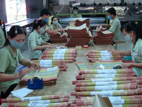 Vĩnh Long: 3 doanh nghiệp cho công nhân nghỉ, giảm ngày làm việc vì Covid-19
