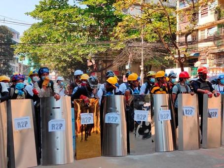 Công đoàn Myanmar kêu gọi 'đóng cửa kinh tế'