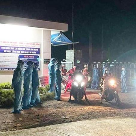 Phú Yên: Công nhân phản đối UBND huyện phong tỏa xí nghiệp may