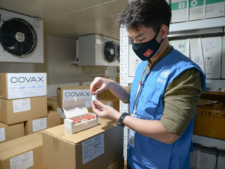 Thêm 1,2 triệu liều vaccine cúm Vũ Hán COVID-19 do COVAX viện trợ đã về Việt Nam