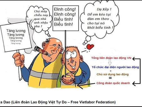 VNTB- Công Đoàn trong Luật Lao động mới có thật sự độc lập