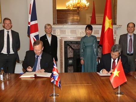 UKVFTA: Vương Quốc Anh - Việt Nam chính thức ký Hiệp định Thương mại Tự do