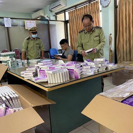 Lộ diện cơ sở phân phối thuốc không rõ nguồn gốc tại Hà Nội