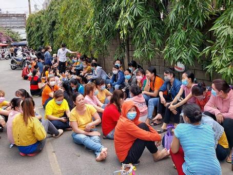 Cty ASIA GARMENT: Bị nợ hơn 9 tỉ tiền lương, BHXH, hơn 400 công nhân ngừng việc