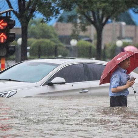 Trung Quốc công bố tổn thất nặng do lũ lụt, mưa bão