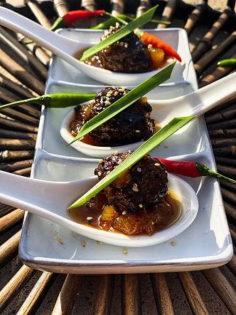 Asian Beef Meatballs