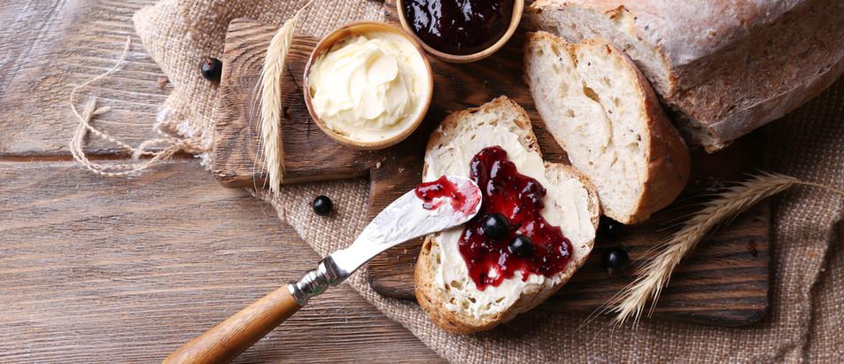 Jam on Bread