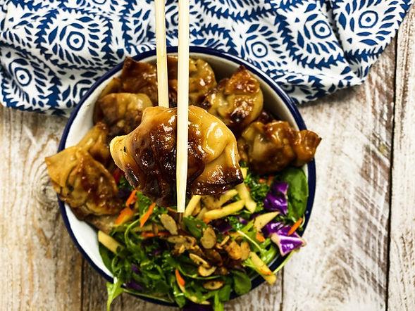 Asian Beef Dumplings