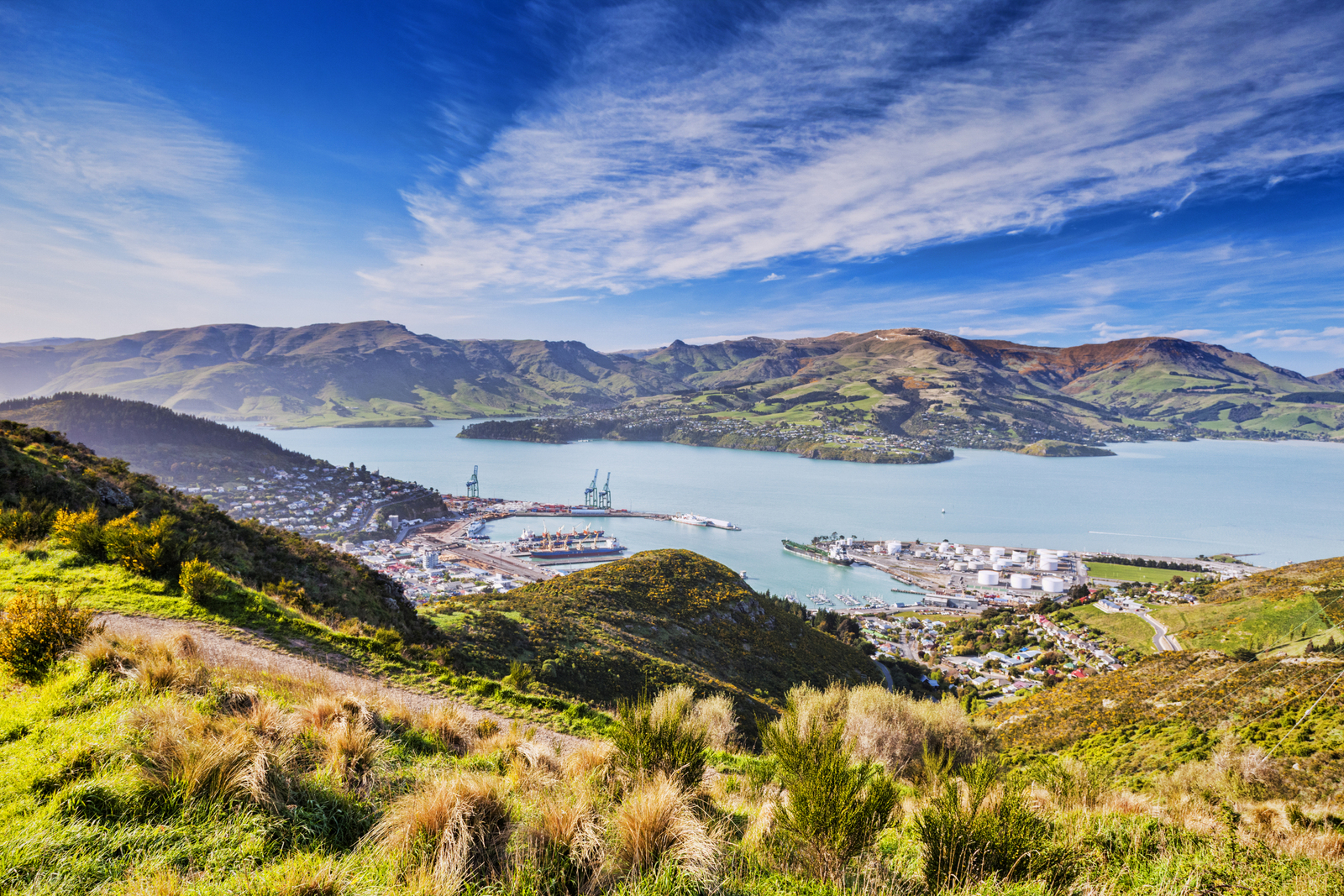 Lyttelton Harbour walking tour