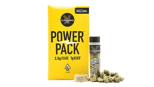 Claybourne Power Pack | Denver Cookies x Hybrid Kief 3.5g