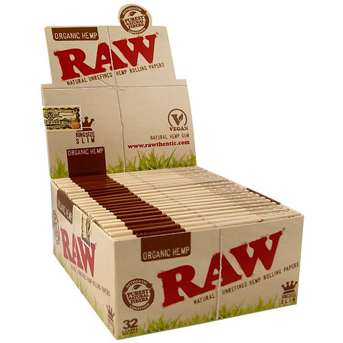 Raw Rolling Papers - Organic KING