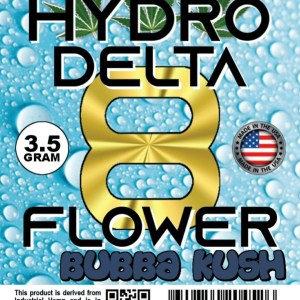 Delta 8 Bubba Kush 3.5G Flower