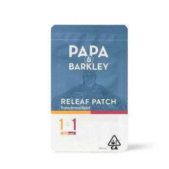 1:1 Releaf Patch/THC: 15 mg  CBD: 15 mg