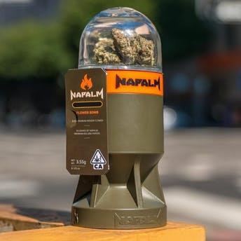 Napalm   FlowerBomb - Oaksterdam OG   3.55g