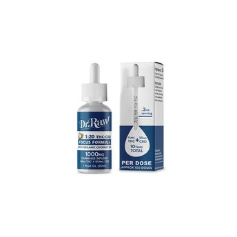 Dr. Raw | Focus 20:1 CBD Tincture/THC: 46 mg  CBD: 954 mg