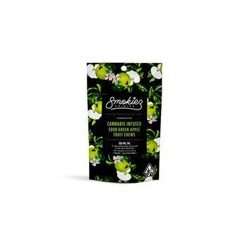 Smokiez Fruit Chews | Sour Green Apple | 100mg