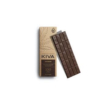 Kiva Bar   Dark Chocolate   100mg
