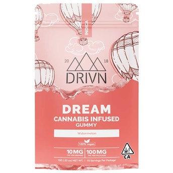 DRIVN   Dream   Watermelon Gummy Tray (100mg/10ct)