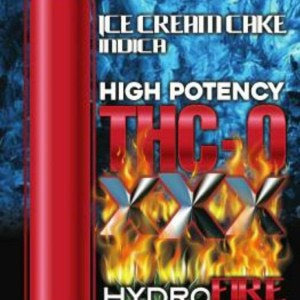 Hydro THC-O Full Gram Cartridge- Ice cream Cake- Indica