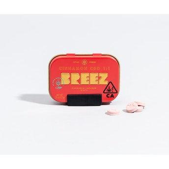 Breez Cinnamon CBD Single 10-Packs (10 MG THC + 10 MG CBD)