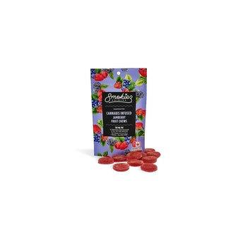 Smokiez Fruit Chews | Sour Jamberry | 100mg