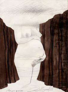 L'horizon gravide