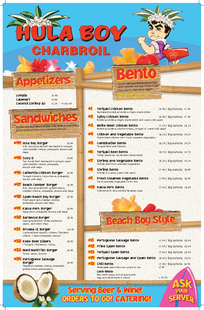 HULA BOY MENU-1