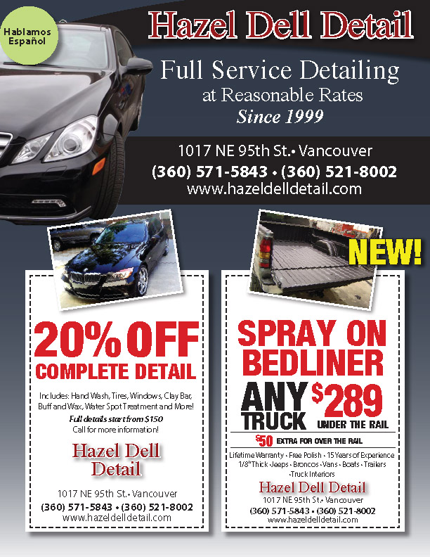 hazel dell detail flyer