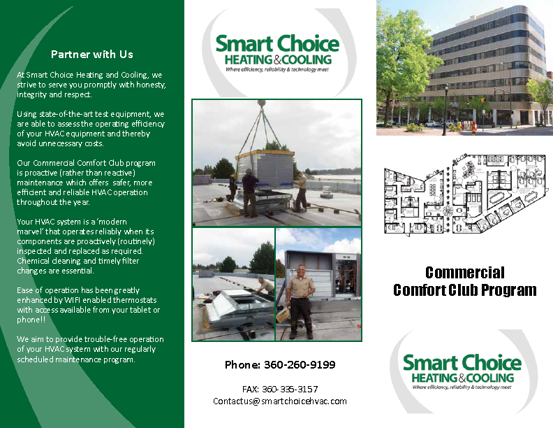 Commercial Comfort Club Brochure 2016 wi