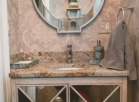 How to Style Your Guest Bathroom