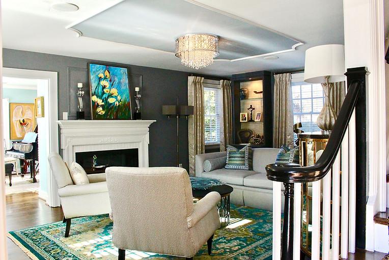 Windsor Farms living room renovation