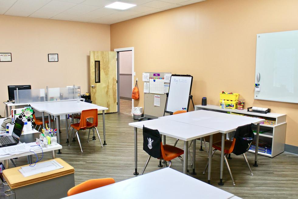 Believe N U Academy Classroom