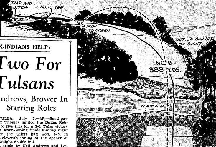 Drawing 1939-7-3 Oklahoman - OCG&CC #9.P