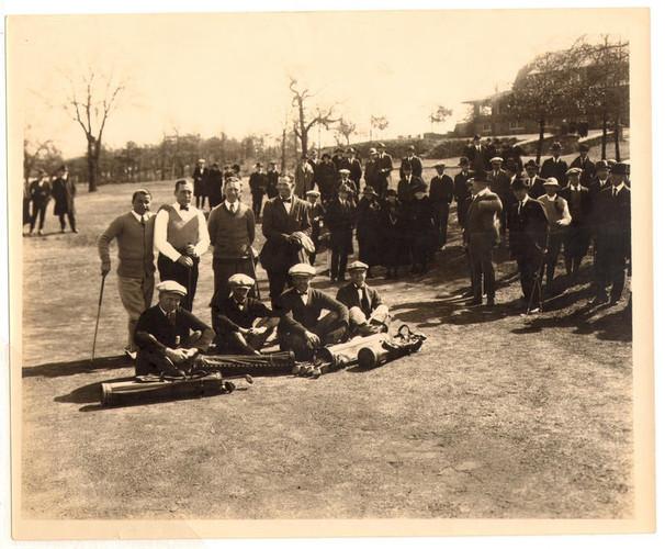 Photo Dornick 1923 Exhibition Sarazen an