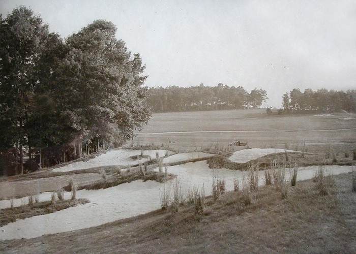 Photo #14 Greenside Bunkers 1939 Old Tow