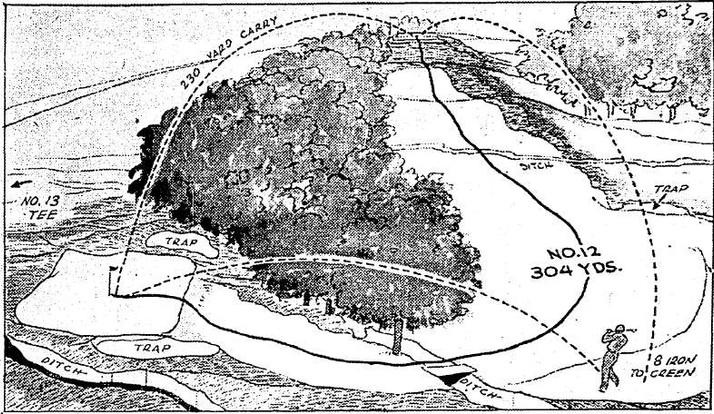 Drawing 1939-7-6 Oklahoman - OCG&CC #12.
