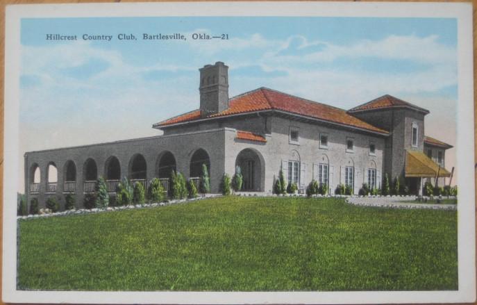 Document Postcard - Bartlesville (Buie).