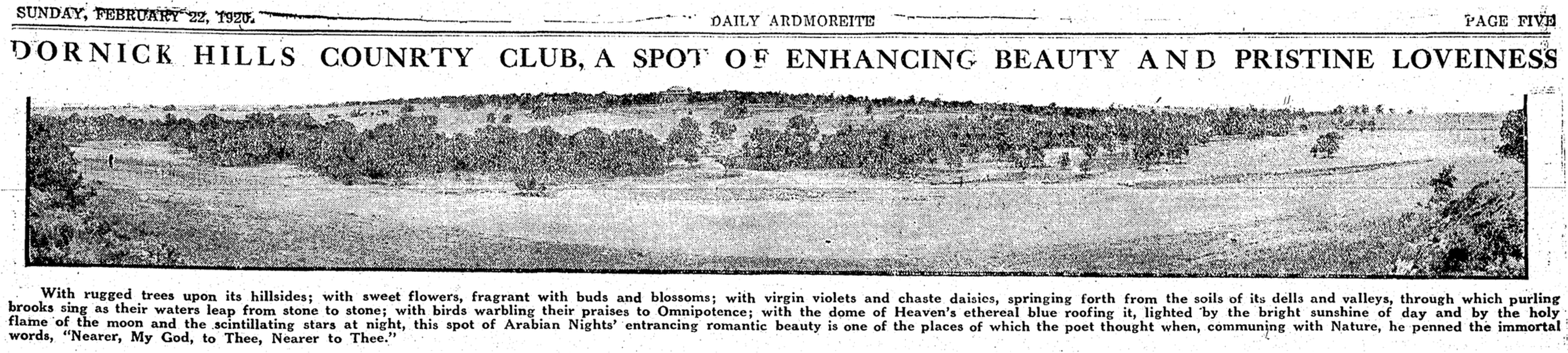 Photo 1920-2-22 Daily Ardmoreite Pg 5 -