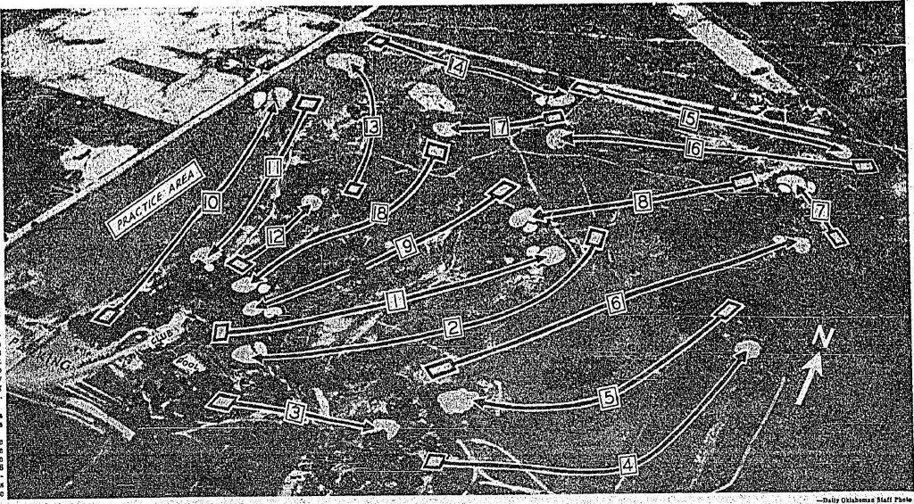 Routing 1950-6-18 Oklahoman Pg 111 - Oak