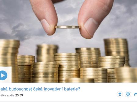 Jaká budoucnost čeká inovativní baterie? Radomír Prus stojí jako investor za jedním z nejperspektivn