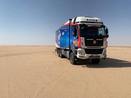 HE3DA: první baterie z továrny Magna Energy Storage na Rallye Dakar