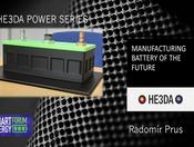 Do vývoje nové generace baterií investovala HE3DA více než miliardu. Výroba začne na jaře 2020
