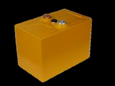 Nová tenkostěnná baterie vyrobená na sériové lince v Horní Suché.
