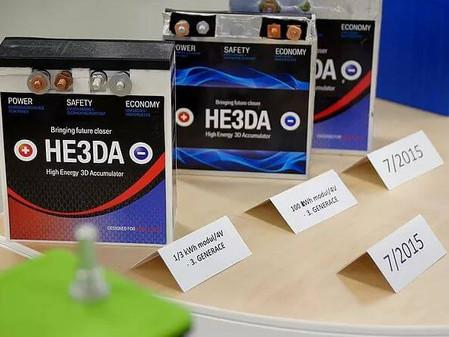 HE3DA startuje na Karvinsku projekt na výrobu baterií za 5,5 miliardy Kč