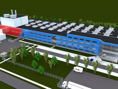HE3DA: Výstavba obří továrny na baterie byla zahájena na Karvinsku