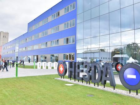 HE3DA: slavnostní zahájení průmyslové výroby v Horní Suché