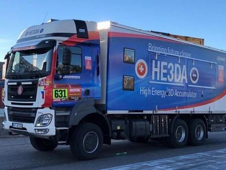 Loprais má v týmu kamion na baterky. Je to krok dvou bláznů k elektromobilitě náklaďáků, tvrdí autor