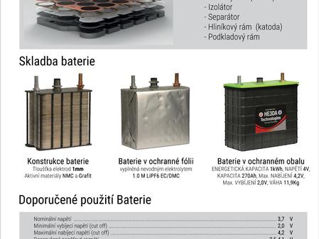 Podívejte se na technický list naši revoluční baterie HE3DA®