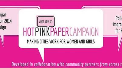 Hot Pink Paper